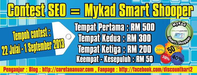 contest SEO Mykad Smart Shopper