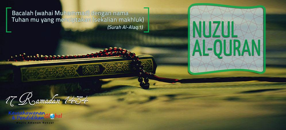 nuzul Al-Quran 2013