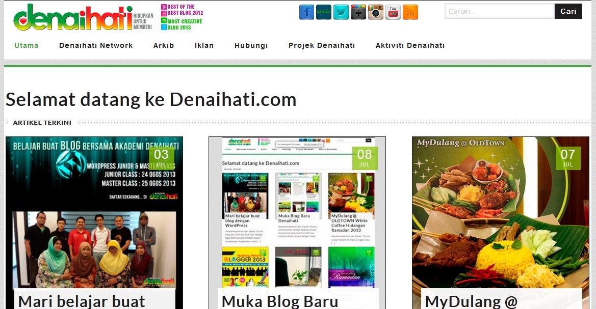 review blog denaihati