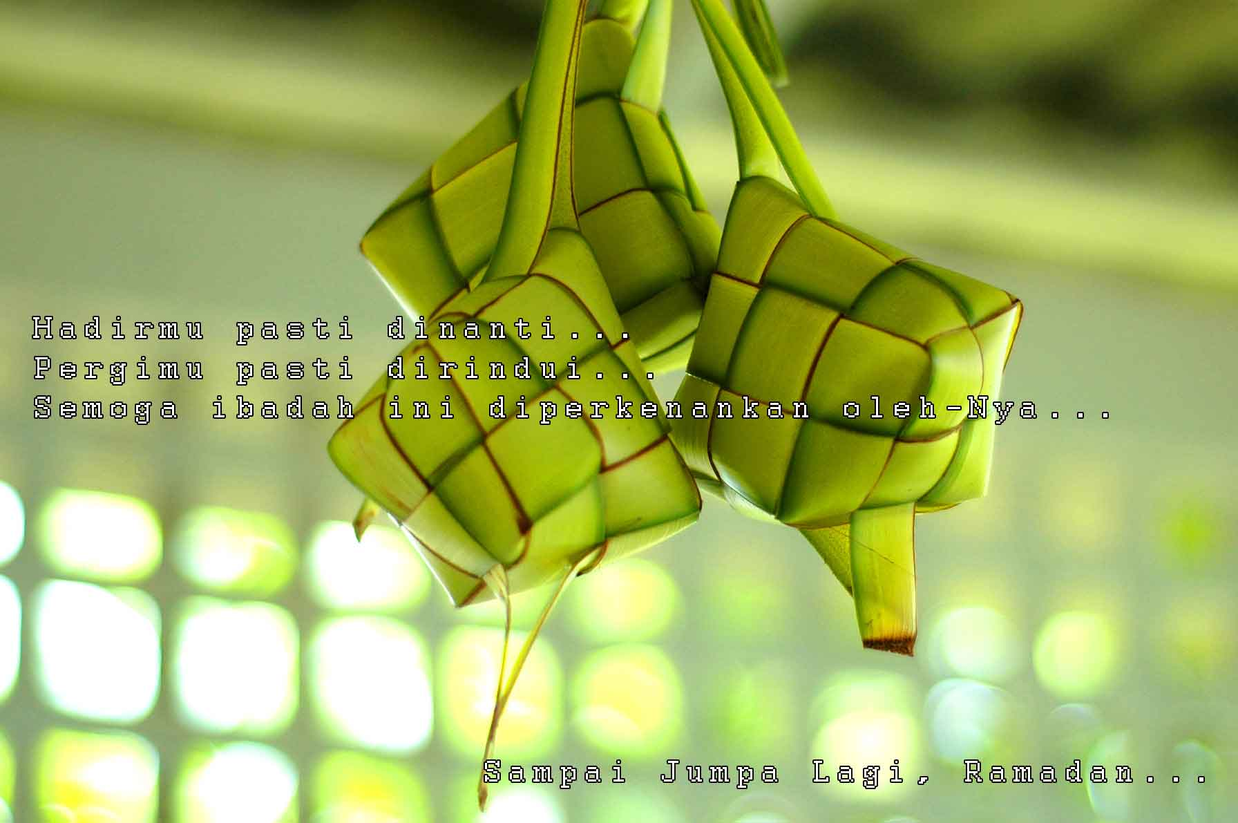 10 perkara baik tentang ketupat