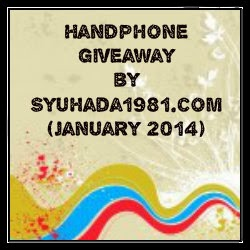 Handphone Giveaway by Syuhada1981.com