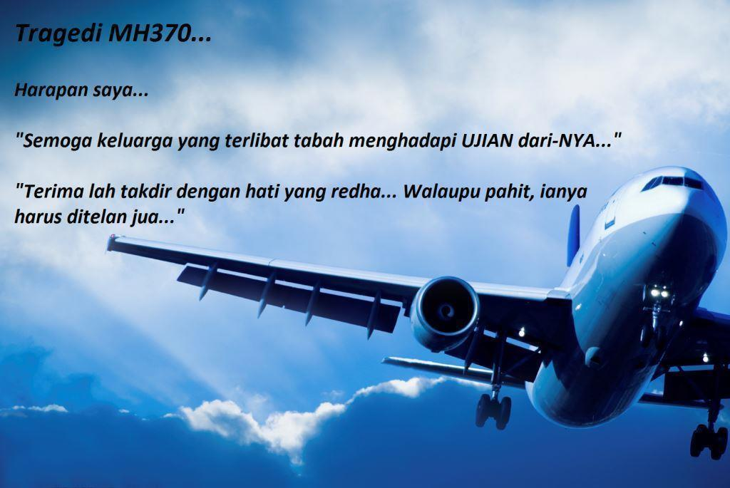 Tragedi MH370-Harapan Saya