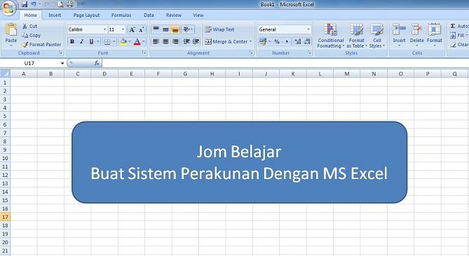 Buat Sistem Akaun Dengan MS Excel