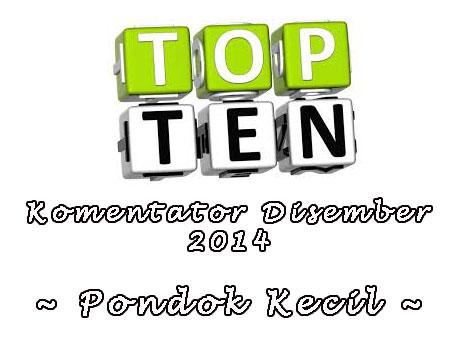 Top Komentator Disember 2014