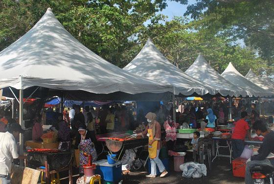 peniaga bazar ramadan tak jujur
